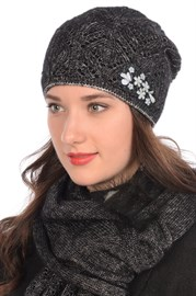 Вязаная шапка ТД-440