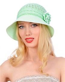 Шляпа летняя Л-210 салат 1